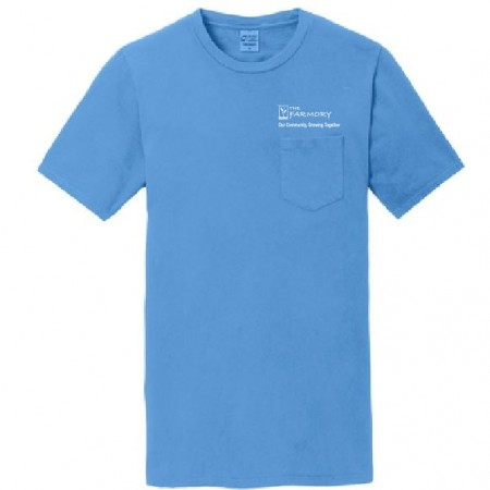PC099P Port & Company® Pigment-Dyed Pocket Tee