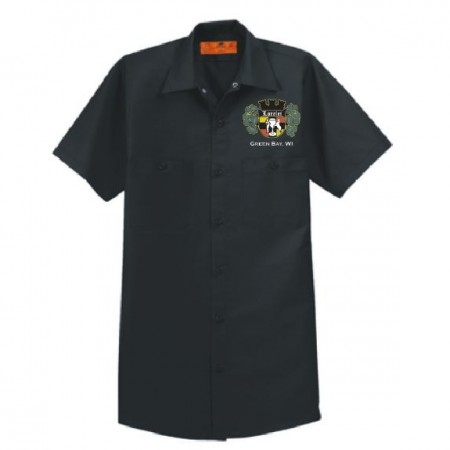 SP24 Red Kap® - Short Sleeve Industrial Work Shirt