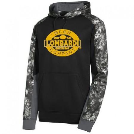 NEW Sport-Tek® Sport-Wick® Mineral Freeze Fleece Colorblock Hooded Pullover