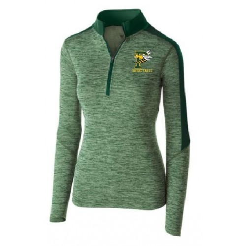 222742 Holloway Ladies Electrify 1/2 Zip Pullover