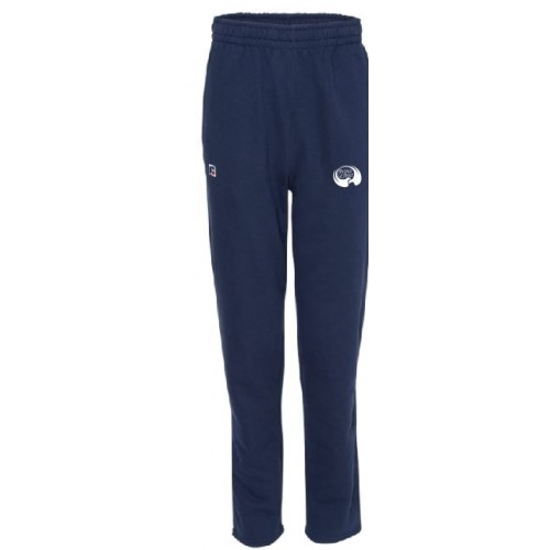 Russell Athletic - Cotton Rich Open Bottom Sweatpants - 82ANSM