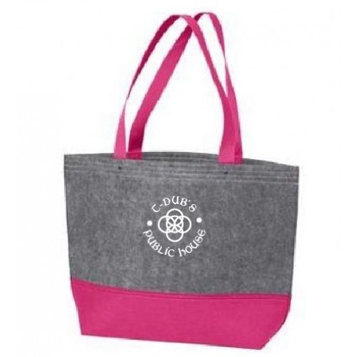 Port Authority® Medium Felt Tote.