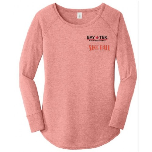 DT132L  District ® Women's Perfect Tri ® Long Sleeve Tunic Tee