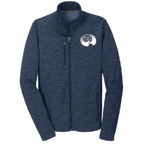 F231 MEN'S Port Authority® Digi Stripe Fleece Jacket