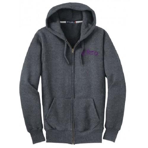 F282  Sport-Tek® Super Heavyweight Full-Zip Hooded Sweatshirt