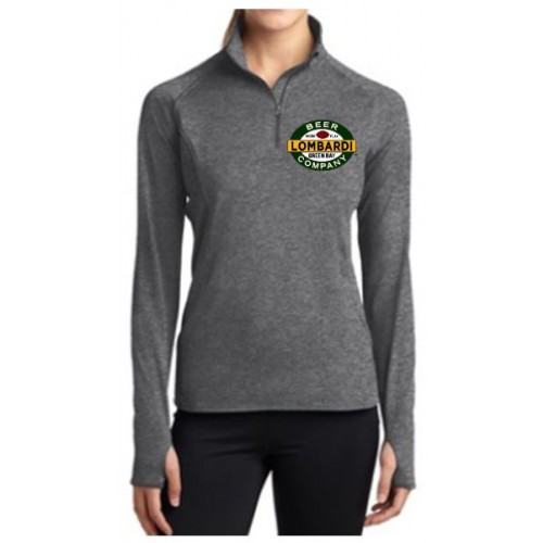 LST850 Adult Ladies Sport Wick Stretch  1/2 Zip Pullover
