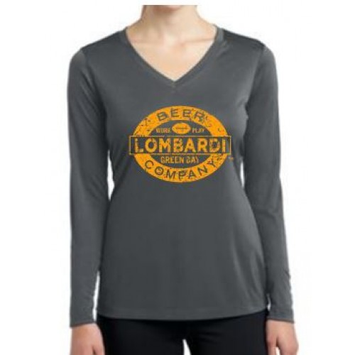 Adult Ladies Long Sleeve Competitor Tee