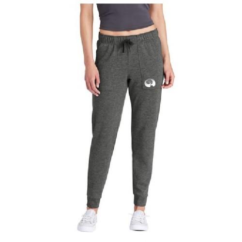 LST299  Sport-Tek ® Ladies PosiCharge ® Tri-Blend Wicking Fleece Jogger