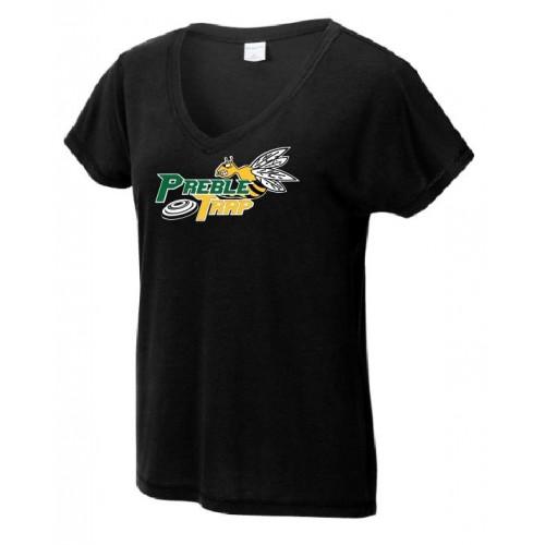 LST401  Sport-Tek ® Ladies PosiCharge ® Tri-Blend Wicking Dolman Tee
