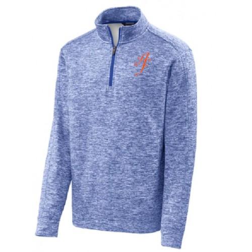 ST226  Sport-Tek® PosiCharge® Electric Heather Fleece 1/4-Zip Pullover