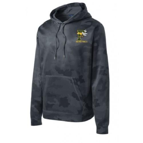 ST240 YOUTH & MEN'S Sport-Tek® Sport-Wick® CamoHex Fleece Hooded Pullover.