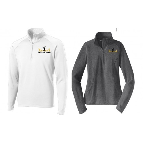 ST850MB MEN'S & LADIES Sport-Tek® Sport-Wick® Stretch 1/2-Zip Pullover