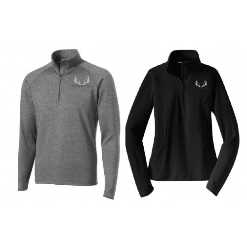 ST850BB MEN'S & LADIES Sport-Tek® Sport-Wick® Stretch 1/2-Zip Pullover